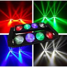 Gaismas efekts HY-08-S RGBW 8x10W