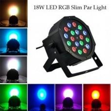 LED prožektors 18x3w rgbw dmx